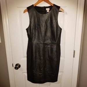 H&M Genuine Leather Front Dress